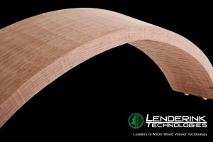 3D Curved Component - Wood