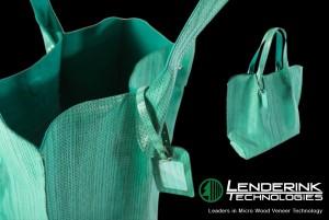 Leatherwood Micro-Laser Engraved Wood Handbag