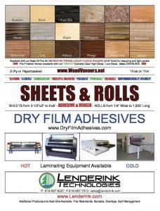 Veneer Sheets and Rolls PDF