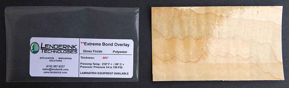 Extreme Bond Overlay Gloss Finish Polyester