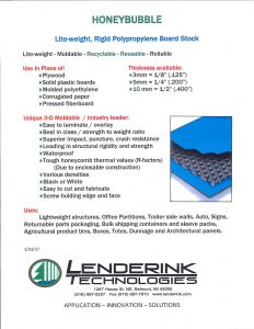 Lenderink Honey Bubble Brochure