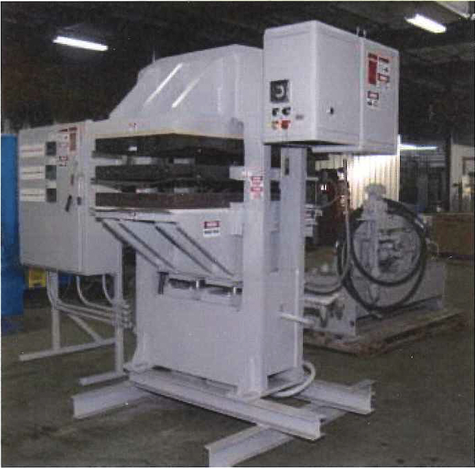hydraulic laminating press
