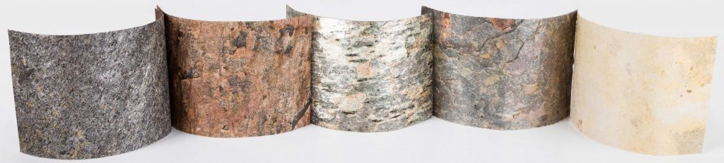 flexible paper thin real stone veneer sheets