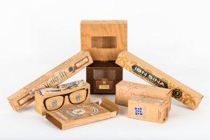Wood Veneer Product Packaging