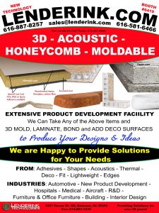 3D, Acoustics, Honeycomb, Moldable