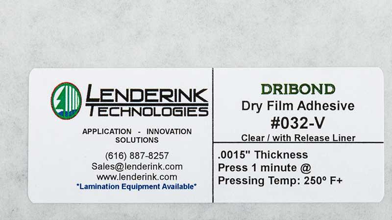 Powder, Web and Film Adhesive Material Lenderink