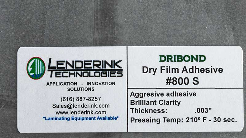 Powder, Web and Film Adhesive Material Lenderink