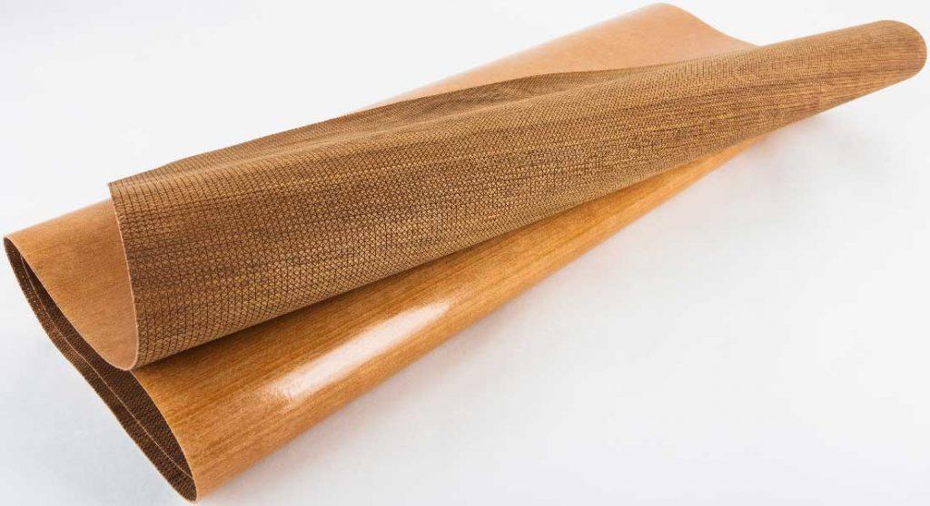 Wood Veneer Leatherwood by Lenderink Technologies