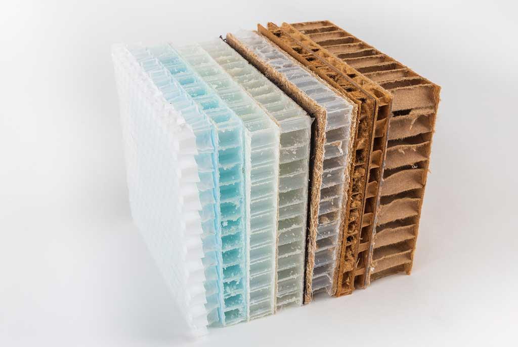 Lightweight honeycomb panels