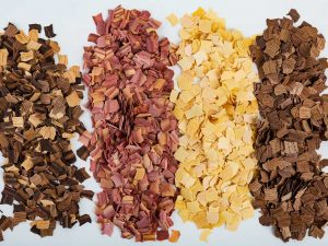 Natural Wood Chips Product Collage
