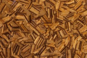Zebra Natural Wood Chip Decorative Surface