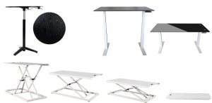 3 design styles for adjustable tables