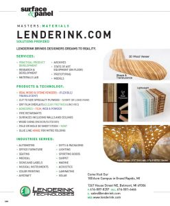 Lenderink Surface & Panel 2020
