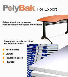 Polybak Rigid Backer For Export