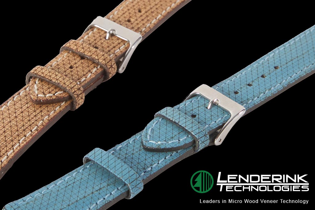 Leatherwood Micro Laser Engraved Wood Watch Bands