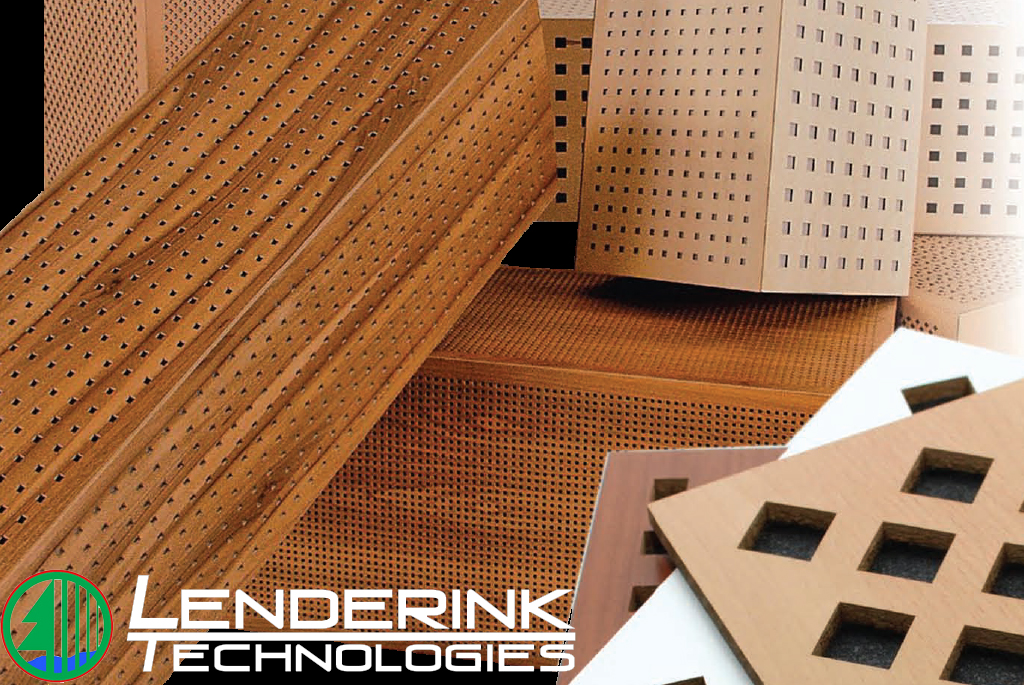 Perforated wood