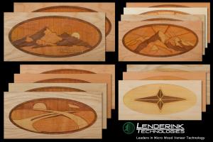 Wood Veneer Printed