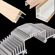 Extrusions: Alum., Wood Wrap, Plastic