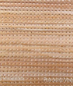 Perforated Veneer for Acoustics