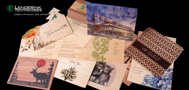 Wood Veneer Printed, Gifts & Packaging