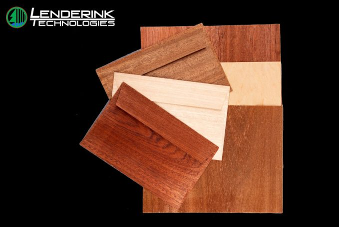 Wood Veneer Stationery, Gifts & Packaging